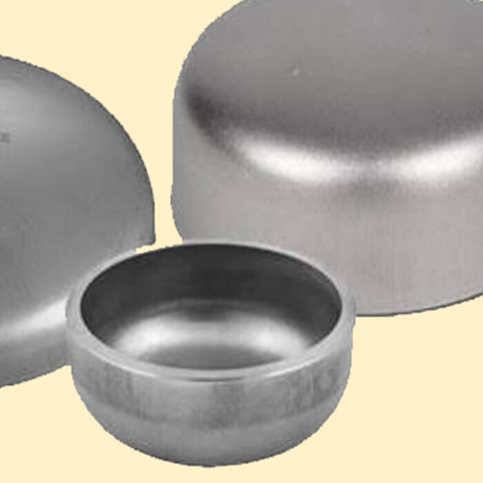 End & Dish Cap Pipe Fittings