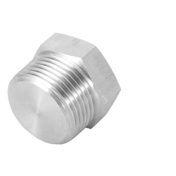 Threaded Hex Plug